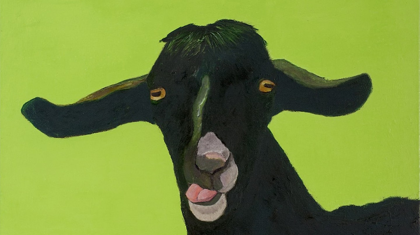 David Benforado, Europe, 'Goats and the Abstract Truth'