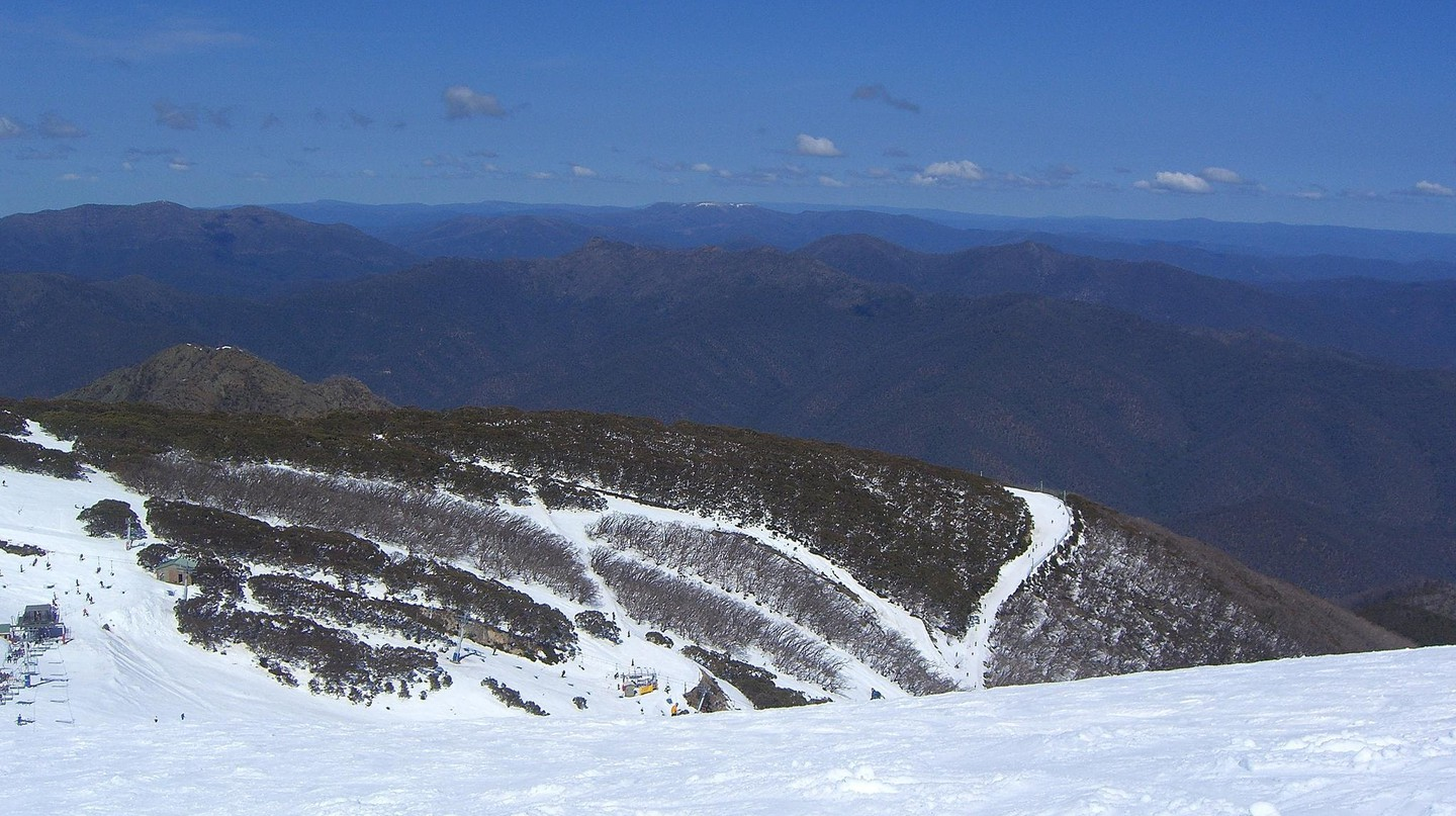 The summit of Mt. Buller