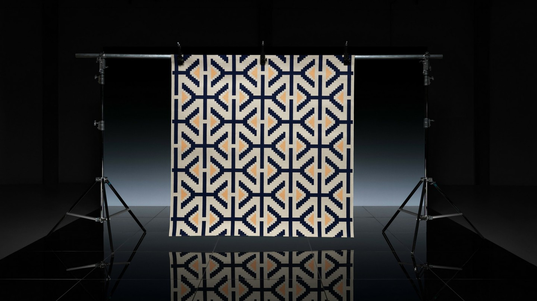 Laduma Ngxokolo's rug for IKEA's Överallt collection