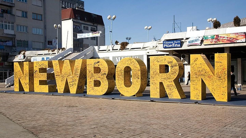 Newborn Monument, Pristina