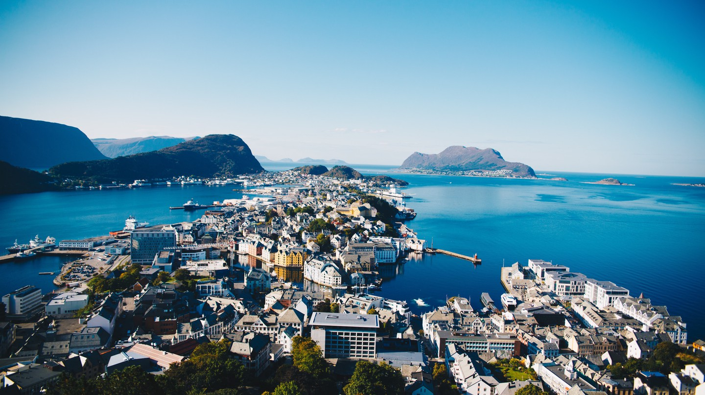Ålesund is a favorite destination