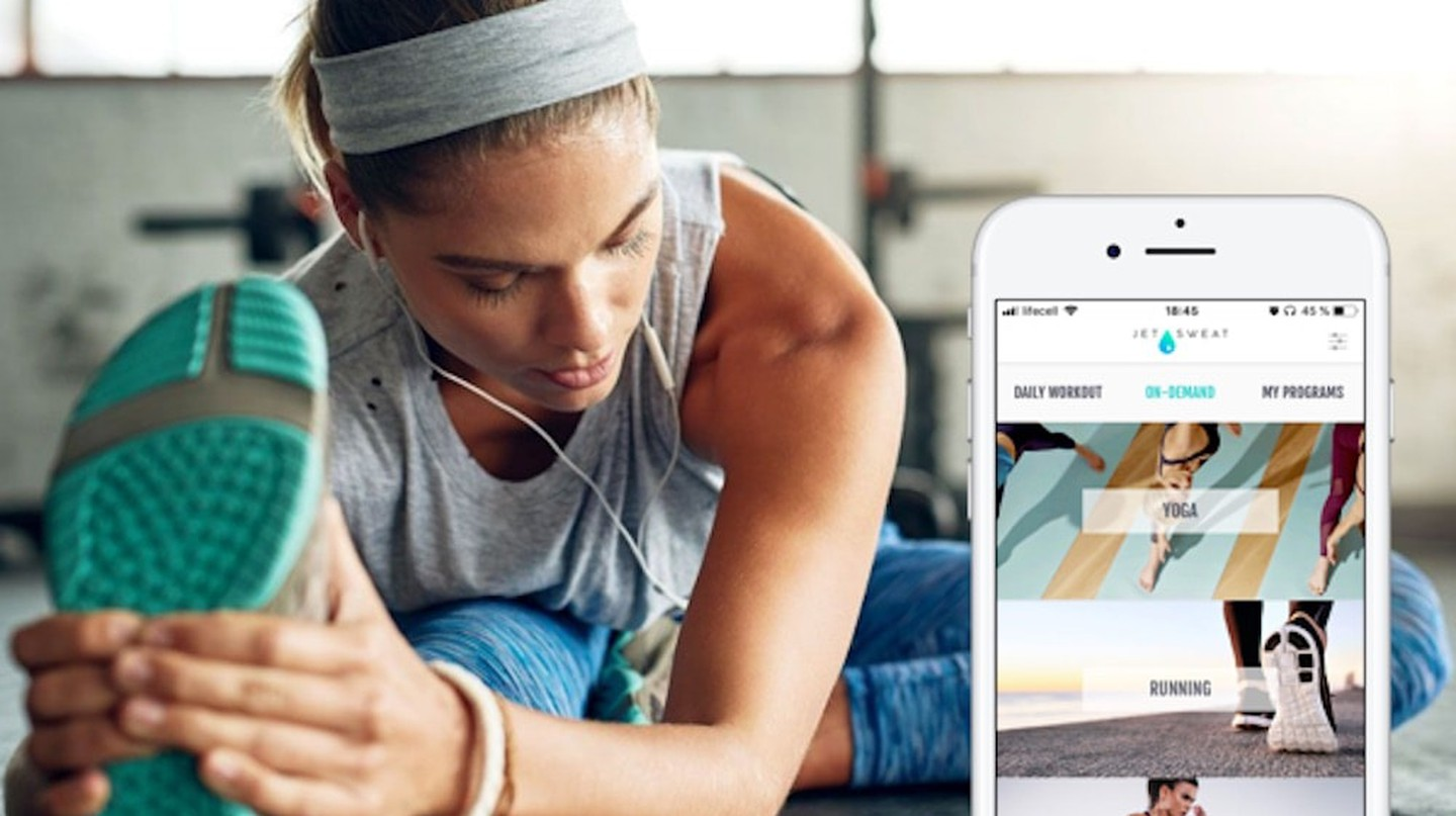 JETSWEAT App Is Making NYC's Favorite Fitness Classes Mobile