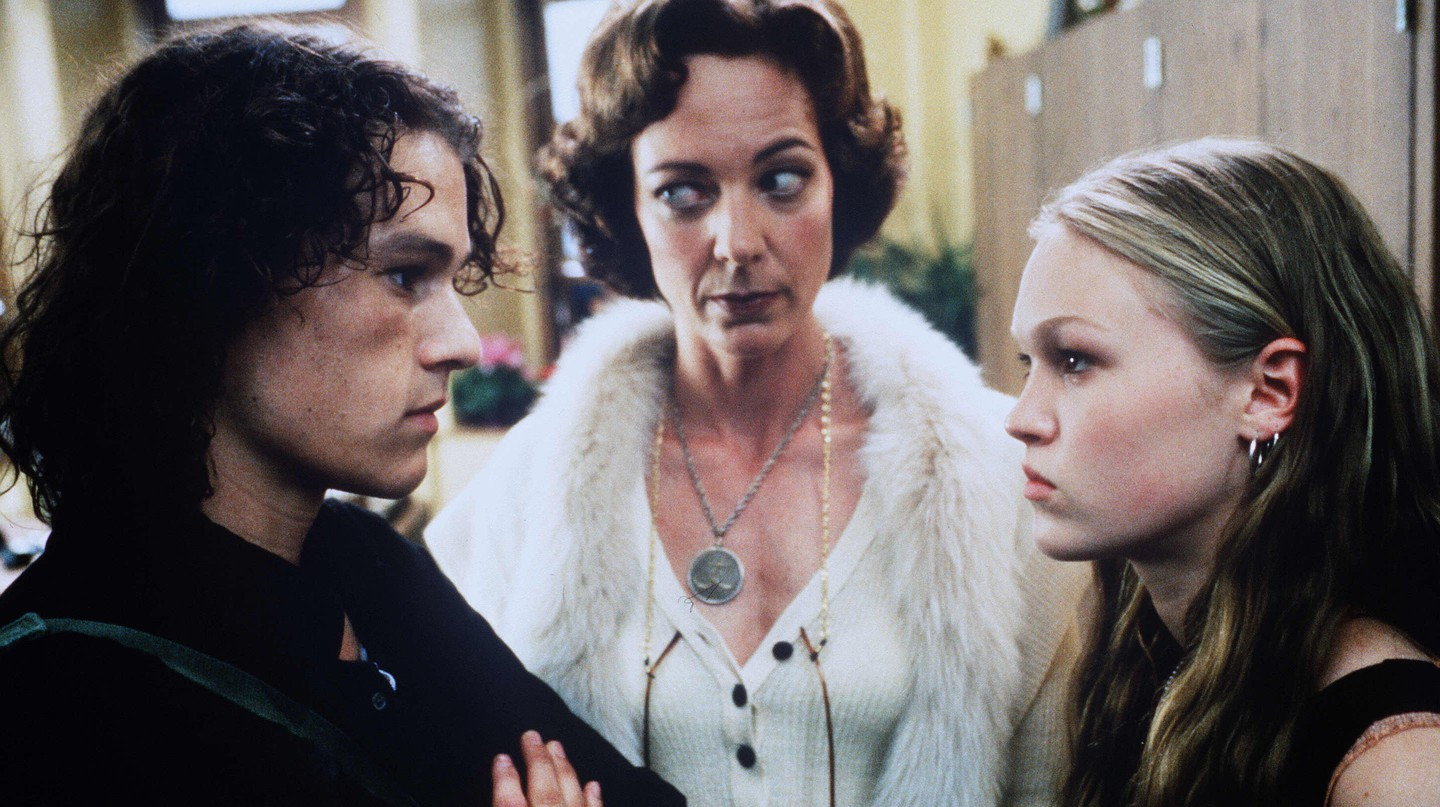 10 Things I Hate About You - 1998 Heath Ledger, Allison Janney, Julia Stiles