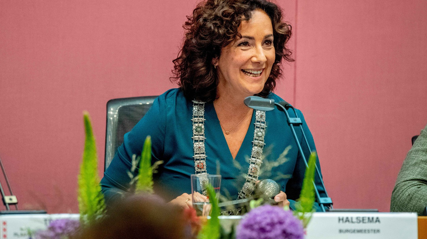 Femke Halsema appointed mayor of Amsterdam, The Netherlands - July 12, 2018. She succeeds Eberhard van der Laan, who died in October, and makes history as the first female mayor of Amsterdam