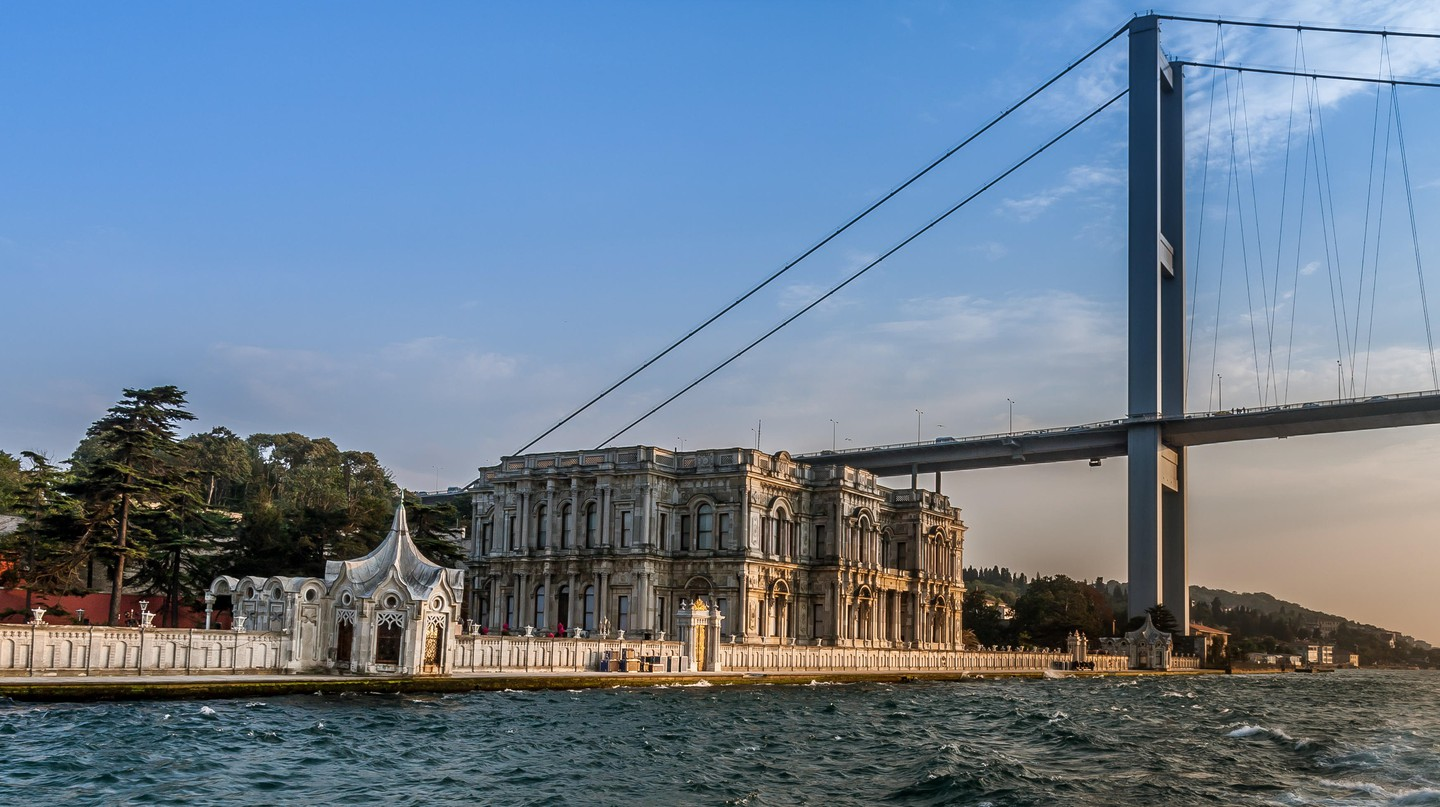The Beylerbeyi Palace is an architectural gem in Istanbul