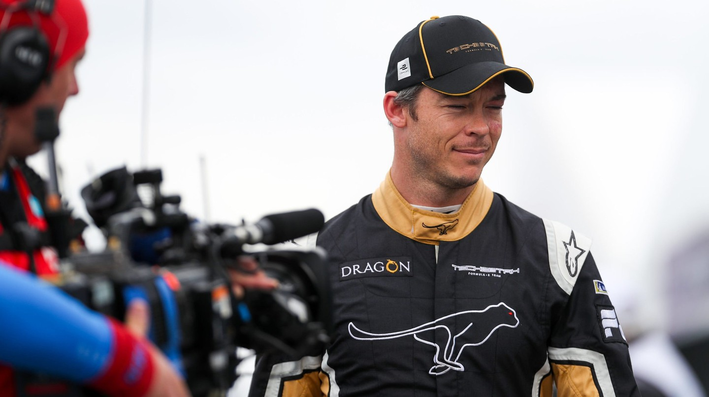 André Lotterer joined TECHEETAH for the 2017/18 Formula E season