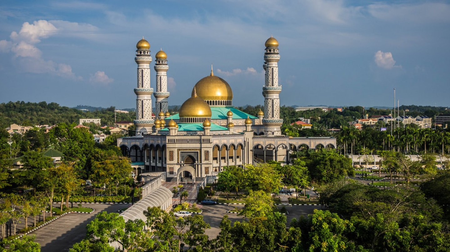 One of Brunei's two national mosques in Bandar Seri Begawan