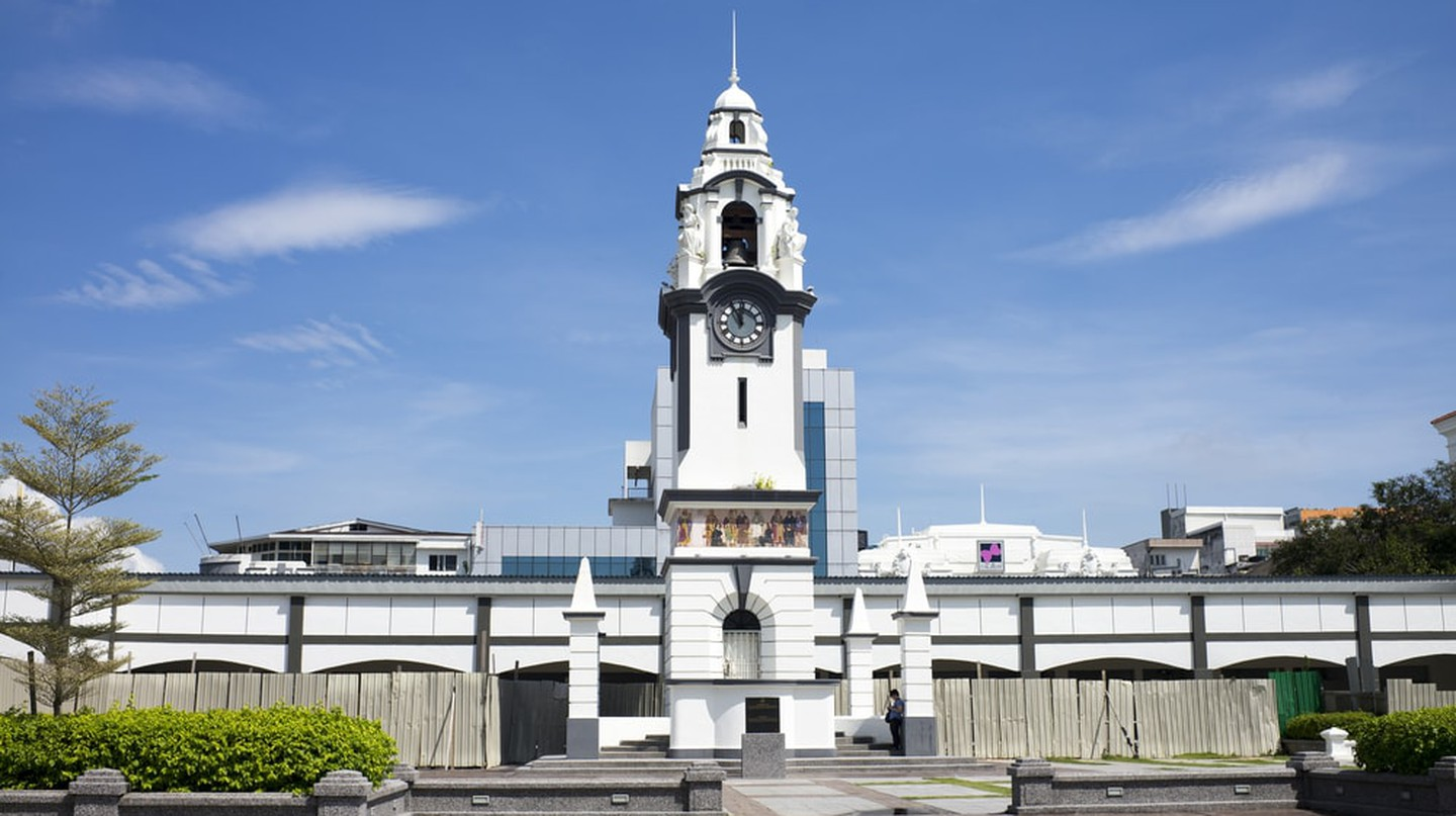 The Birch Memorial Clock Tower in Ipoh