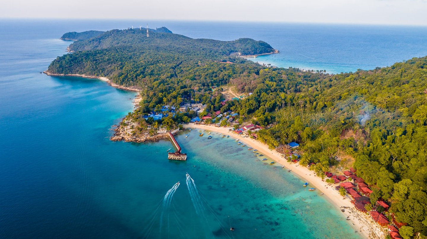 Magneficeint view of Perhentian Island, Terengganu