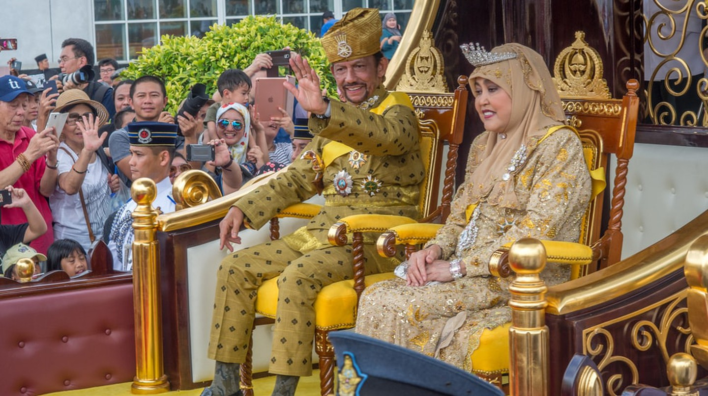 Brunei's Sultan 50-year procession