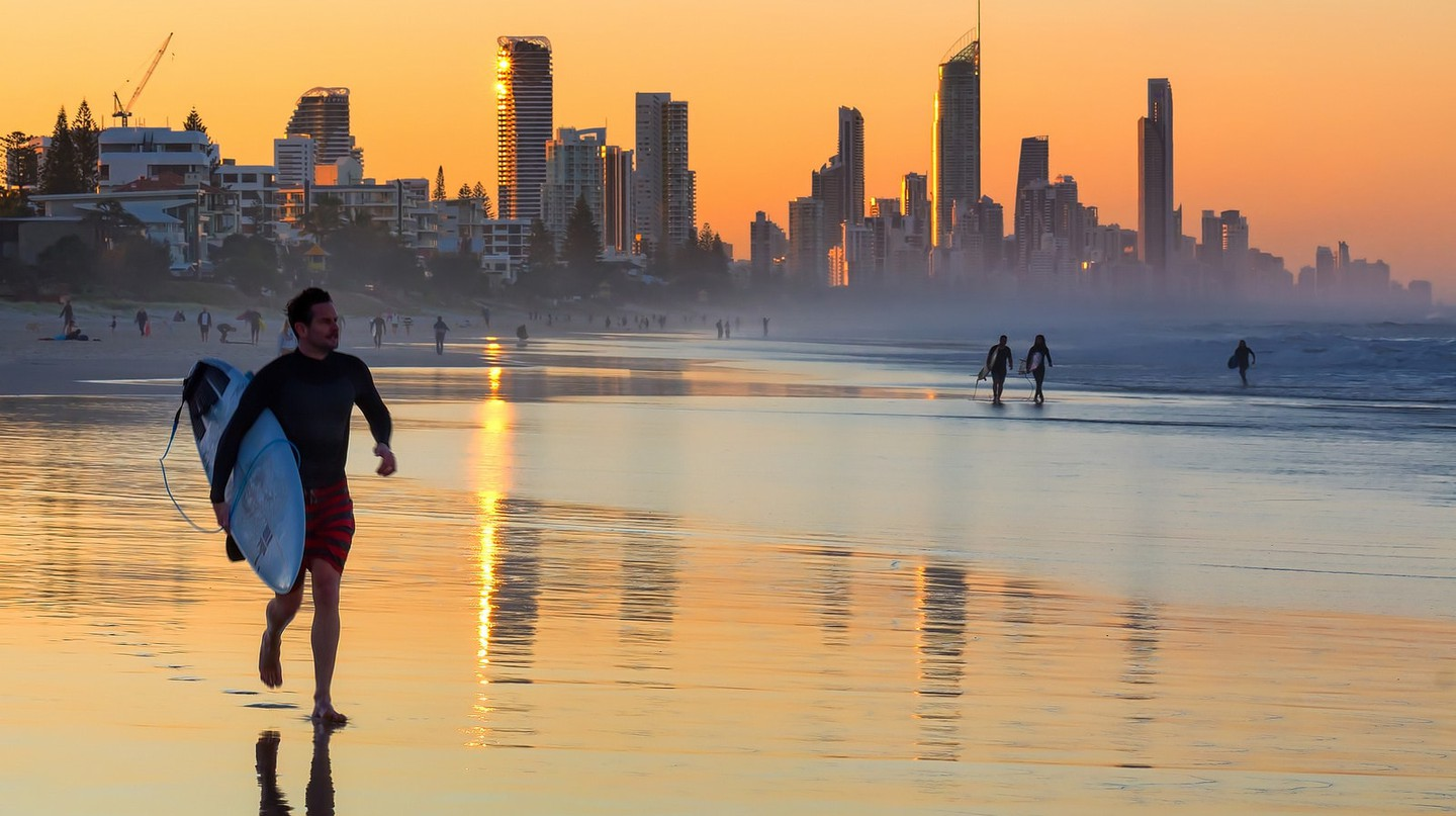 Sunrise on the Gold Coast