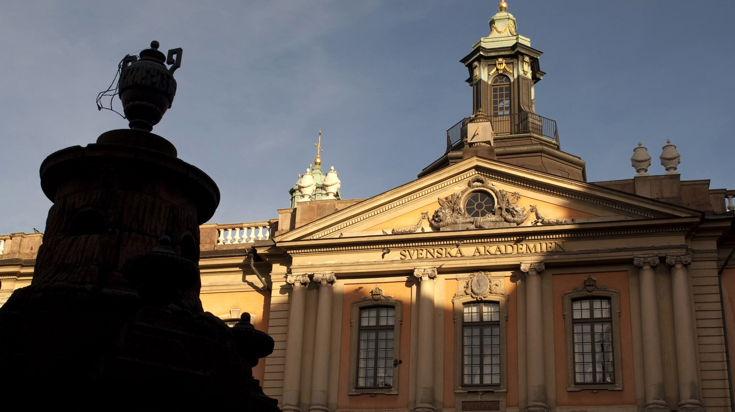 The Swedish Academy in Stockholm
