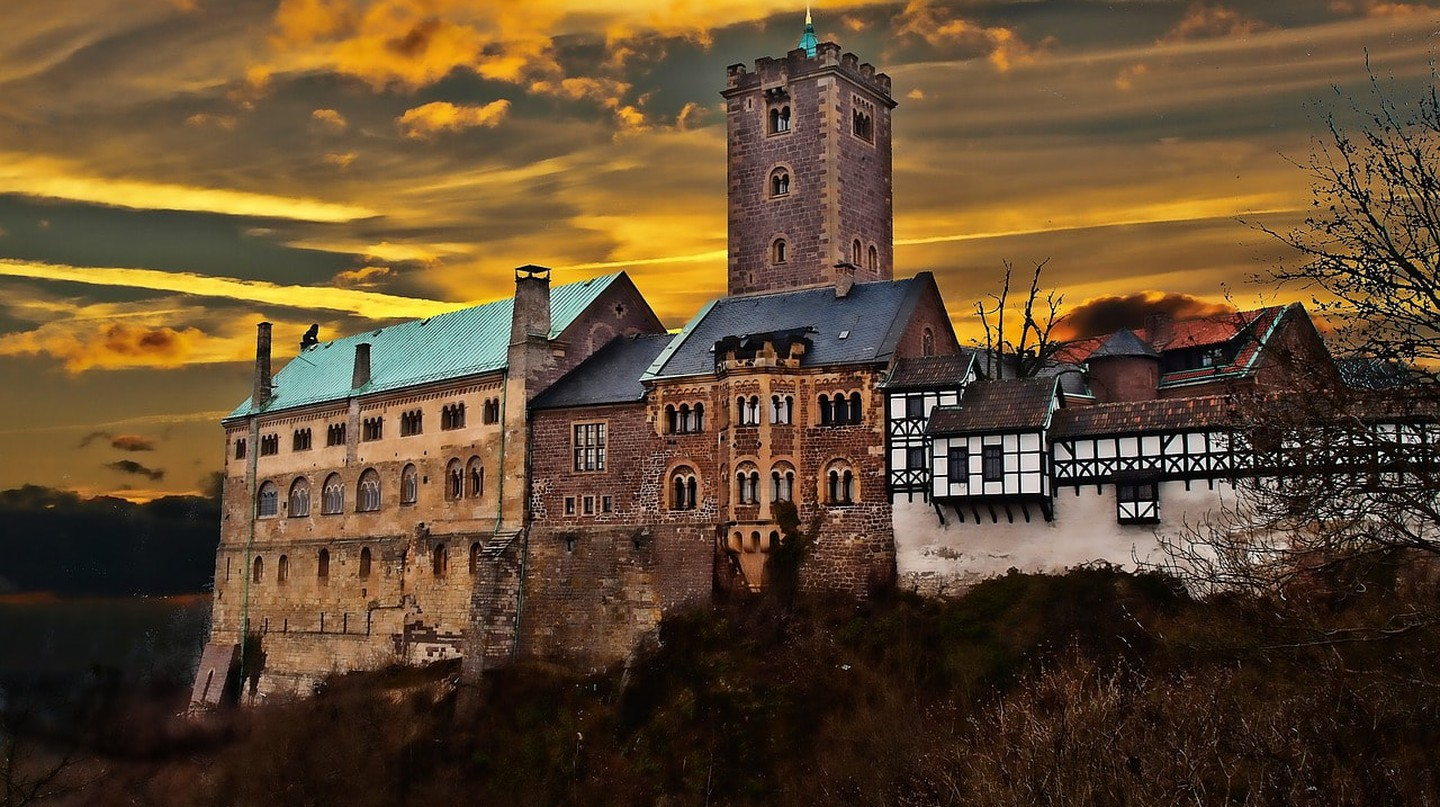UNESCO castle in Thuringia, Germany