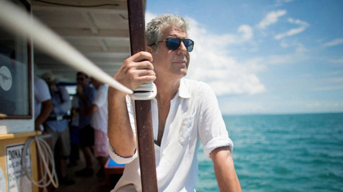 Anthony Bourdain traveled around the world connecting people and places through food