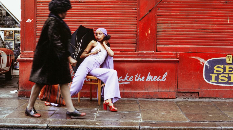 Armet Francis, 'Fashion Shoot', Brixton Market, London, 1973