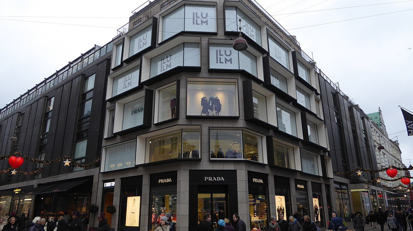 ILLUM department store is one of the most popular in Copenhagen