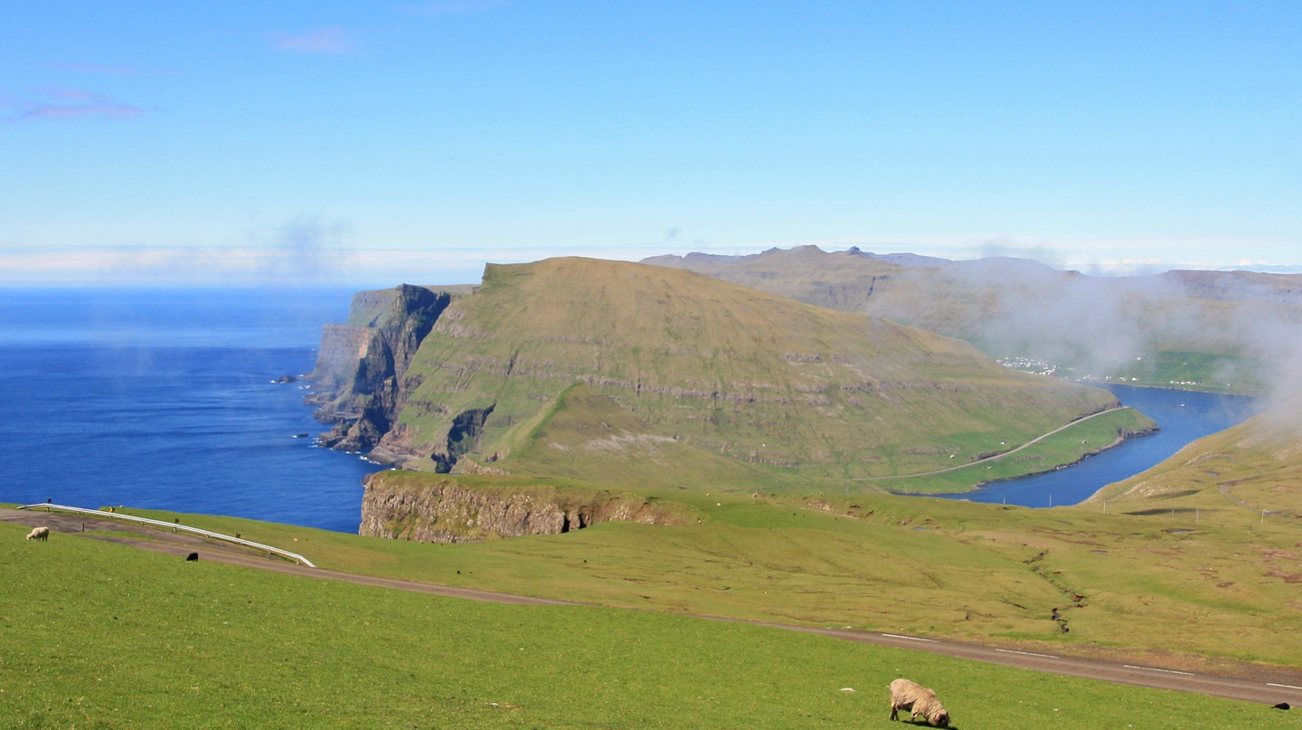 The spectacular landscape of the Faroe Islands