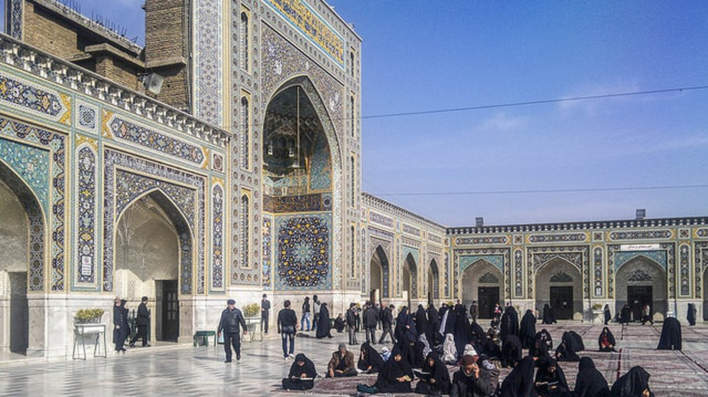 Imam Reza Shrine in Mashhad