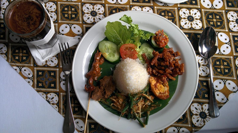 Simple Indonesian food