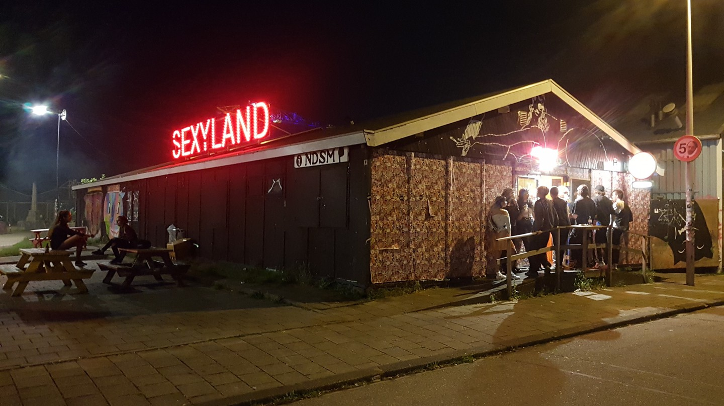 Sexyland in Amsterdam-Noord