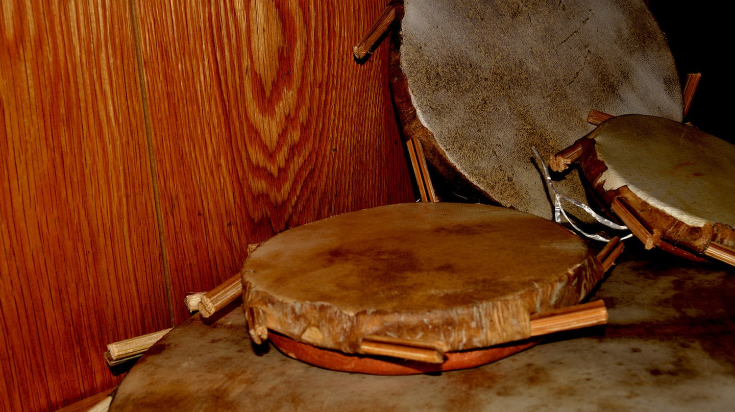 The Yoruba instrument, Sakaras