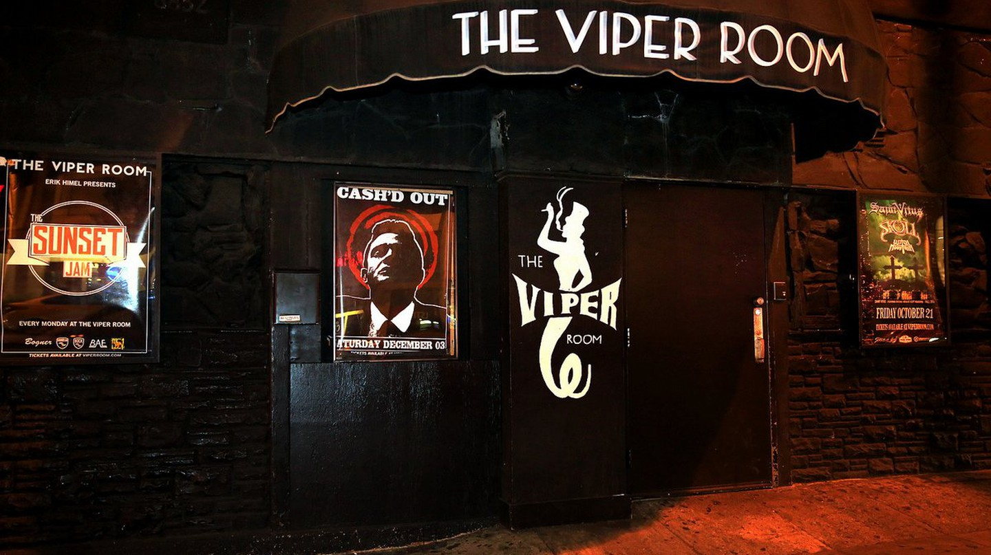The Viper Room located on the Sunset Strip