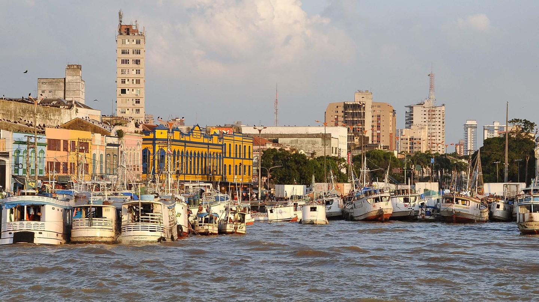 Docks in Belem, Brazil