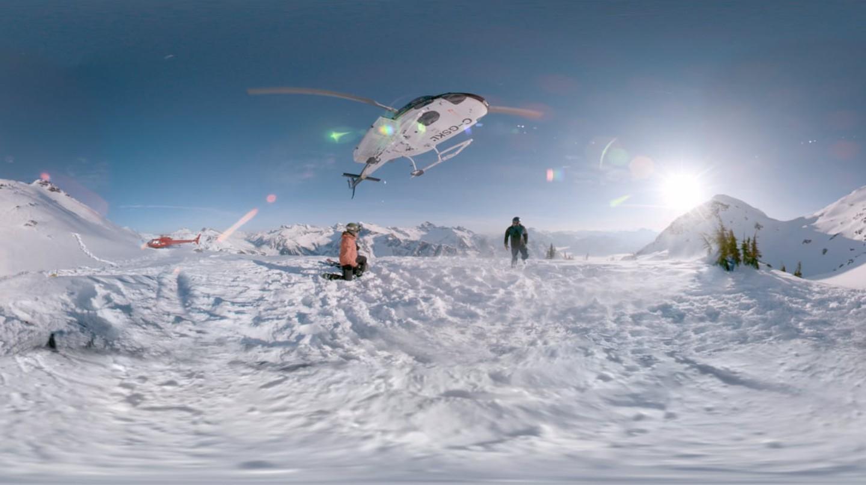Screenshot from 'The Anatomy of Ski'4K film