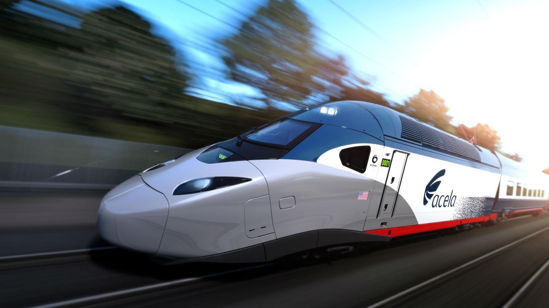 Amtrak's Acela trains serve the East coast of America.