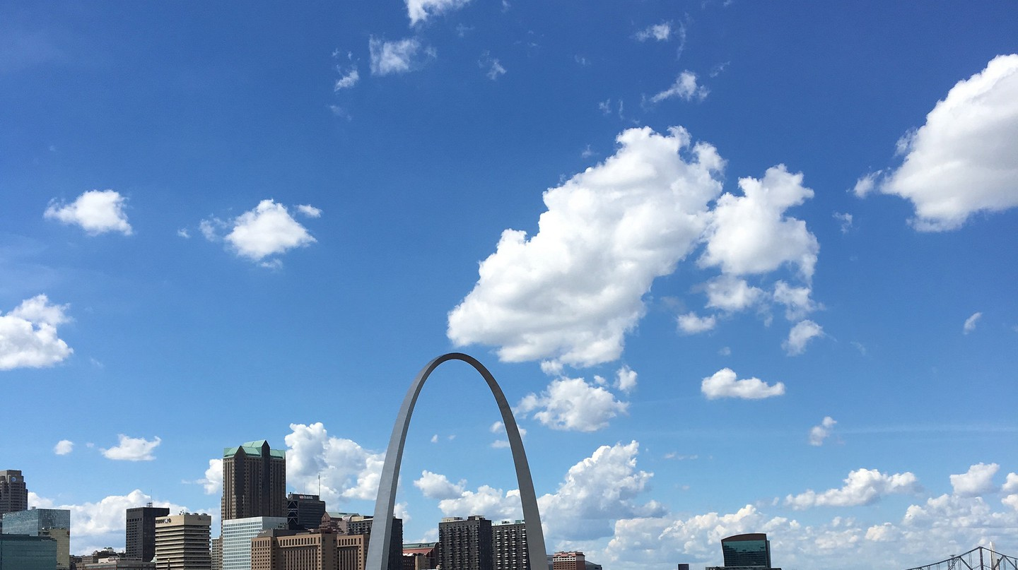 The Gateway Arch is St. Louis' most popular monument