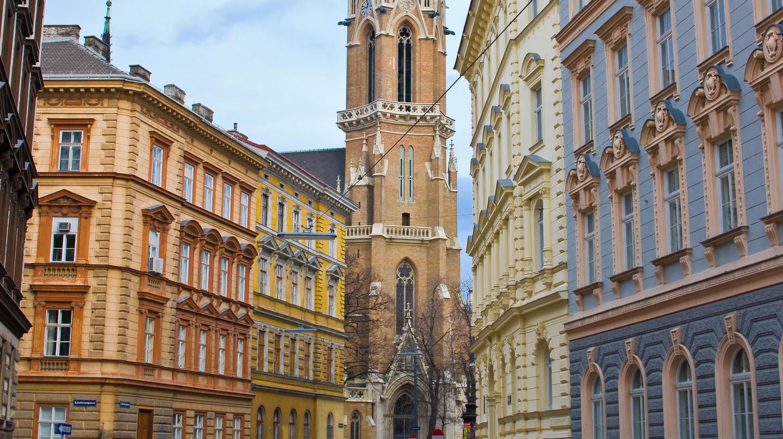 Cityscape of Vienna, Austria.