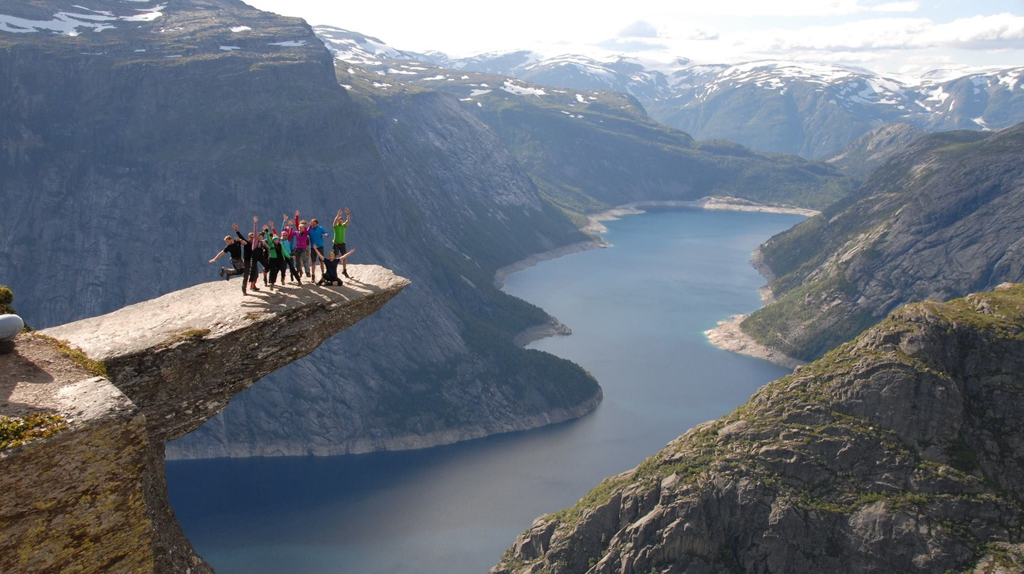 Being a millennial in Norway can be as exciting as hiking Trolltunga