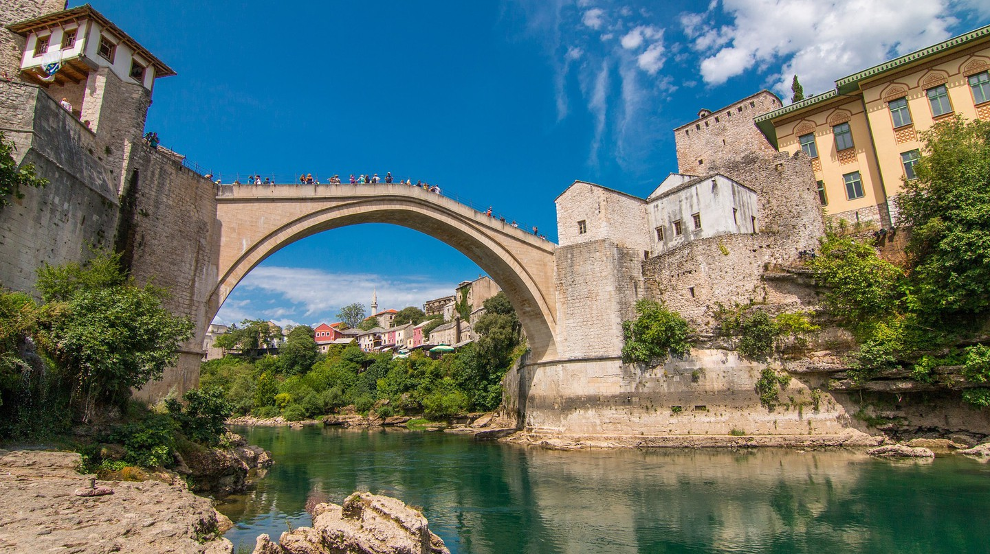 Stari Most Bridge, Mostar, Bosnia and Herzegovina