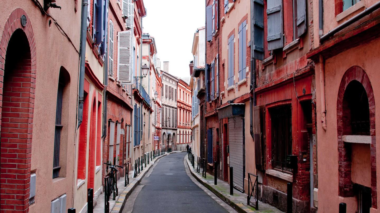 Historic Quarter near Capitole Square, Toulouse, France