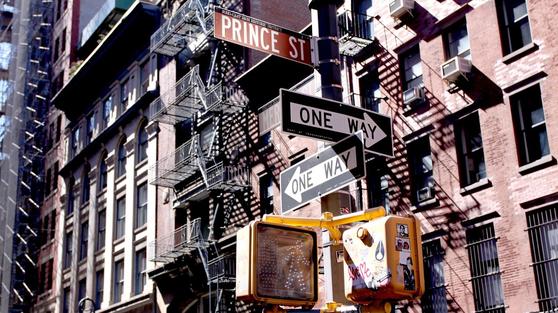 Prince Street, SoHo, New York City, USA