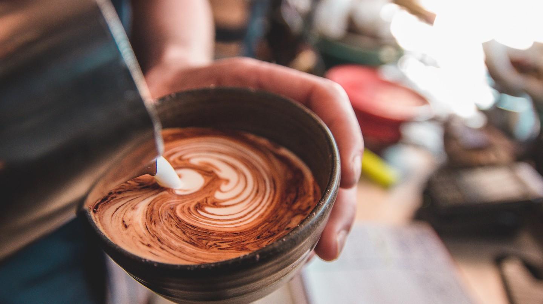 Coffee at Pusher Espresso Bar