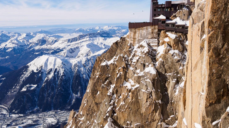 Chamonix-Mont-Blanc, Haute Savoie, Rhone-Alpes, France.