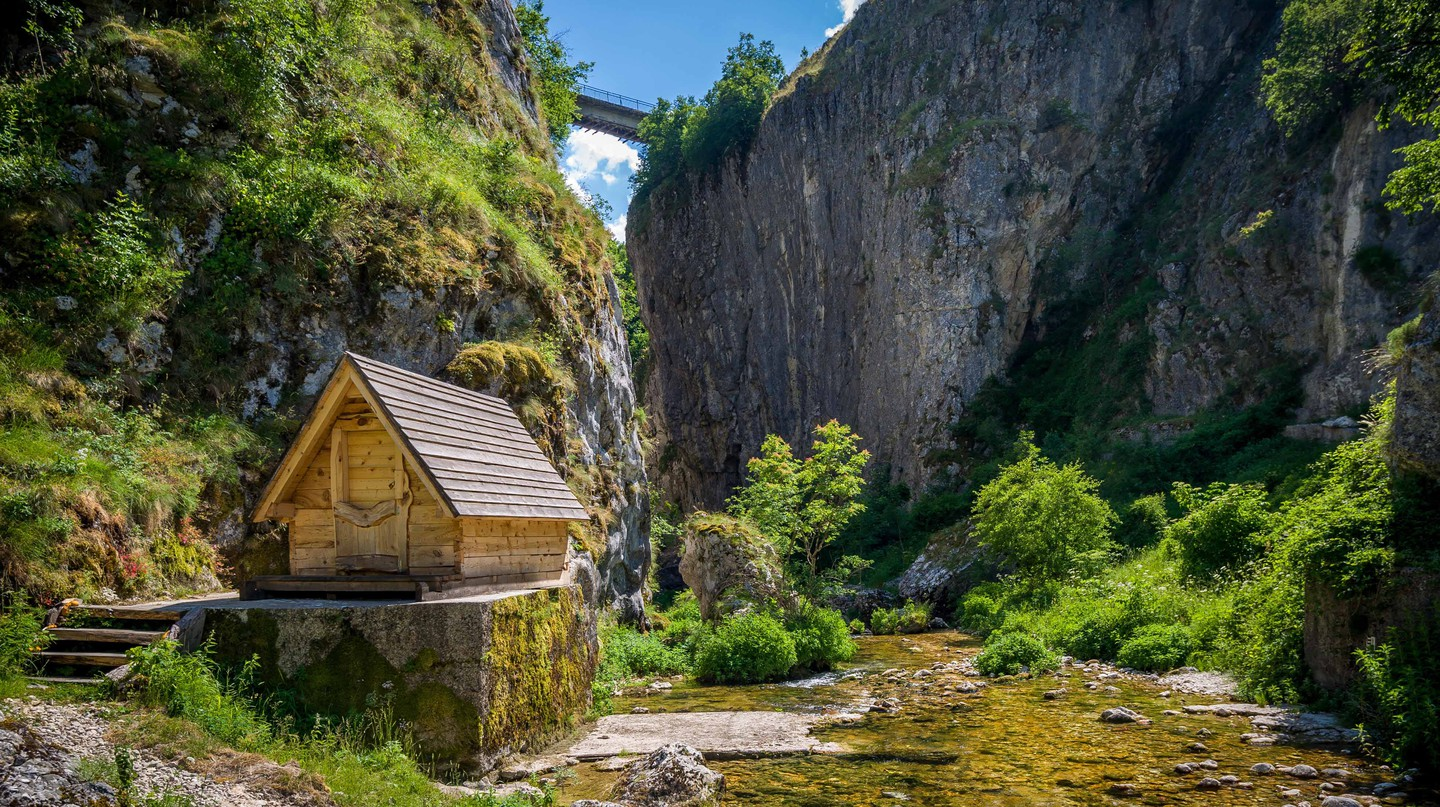 Nevidio canyon in Montenegro