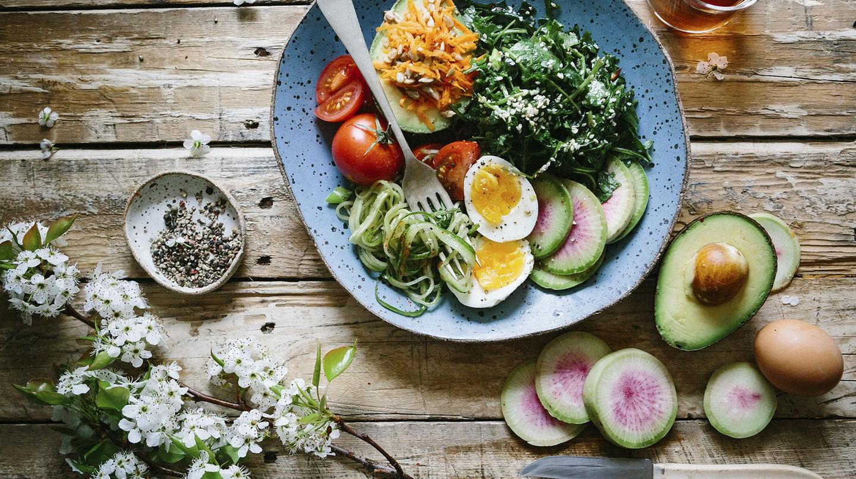 Healthy vegetarian dish