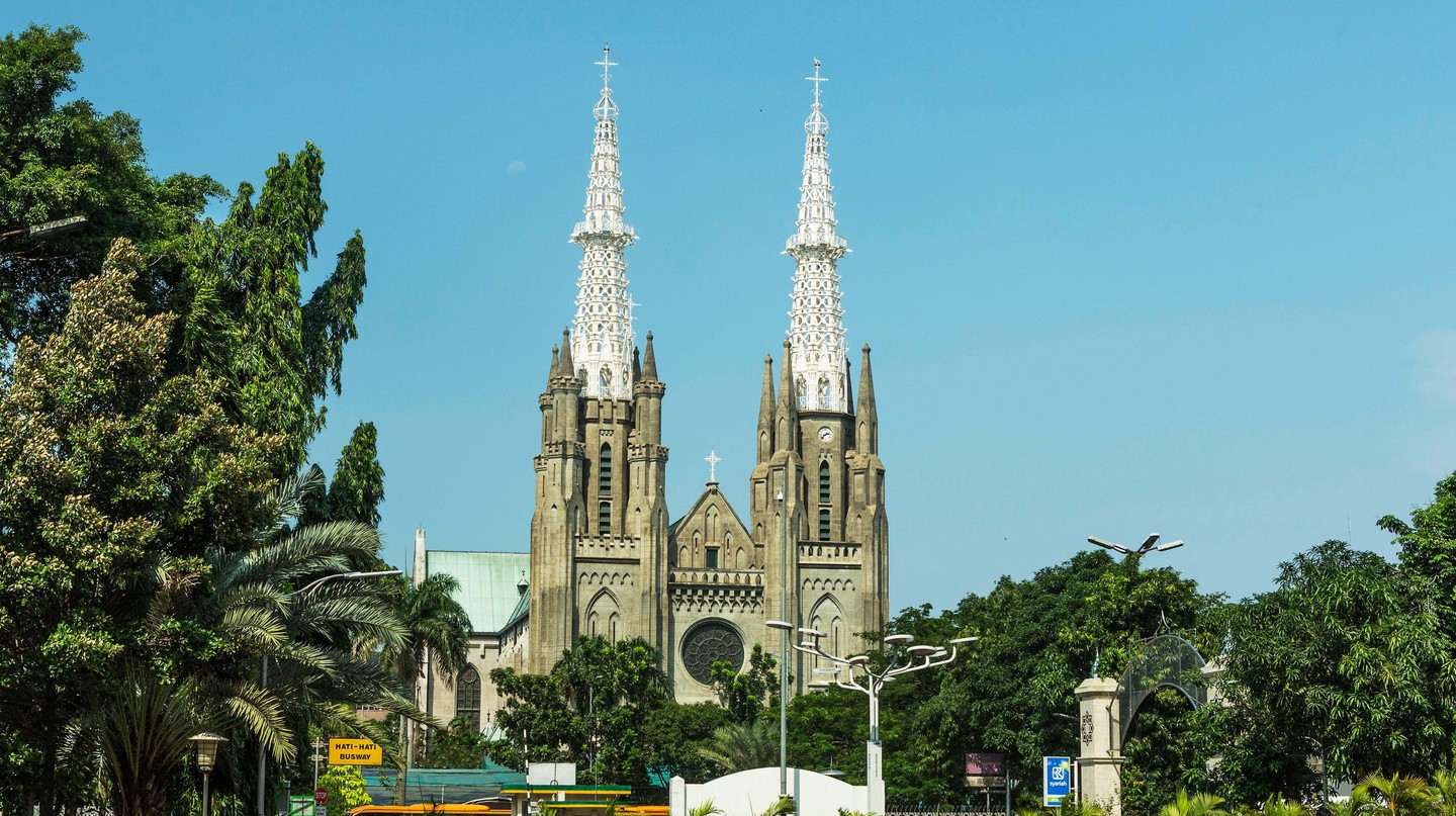 Cathedral Jakarta, Indonesia.