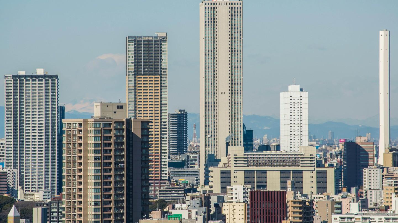 Skyscrapers of Ikebukuro, Toshima-Ku,Tokyo, Japan