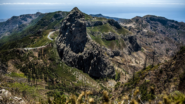 La Gomera's volcanic landscape