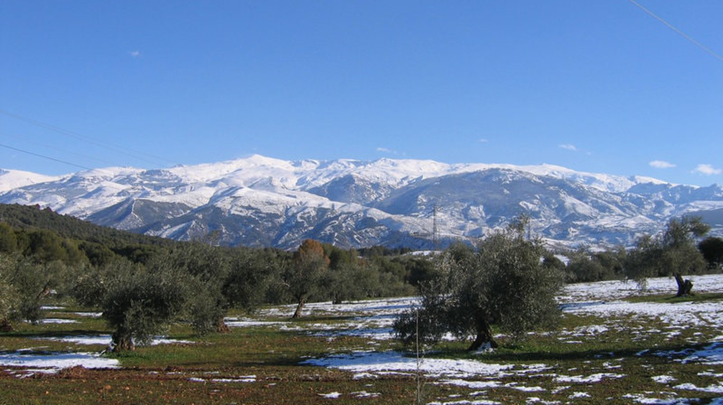 Mountains in southern Spain's Sierra Nevada natural park