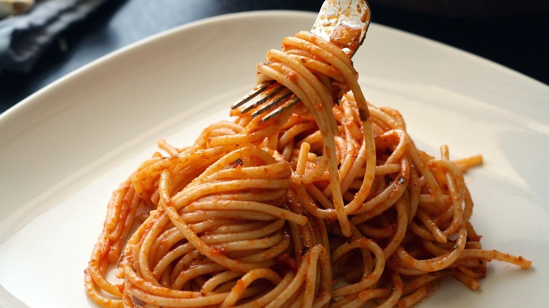 Enjoy homemade pasta at Romano's