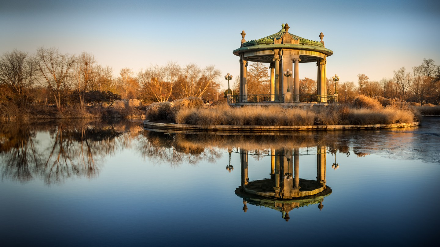 Pagoda in Forest Park