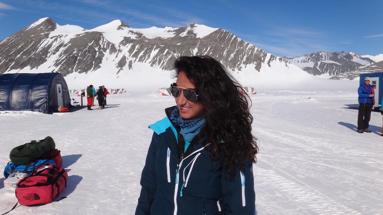 Raha Moharrak went against societal norms to climbs mountains