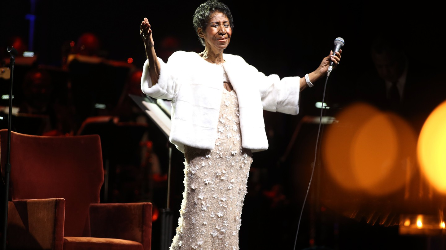 Aretha Franklin was a soul legend