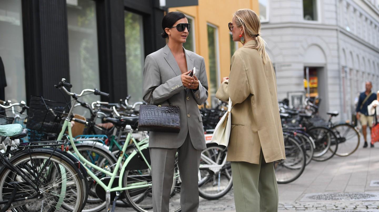 Street style at Copenhagen Fashion Week spring/summer 2019, Denmark