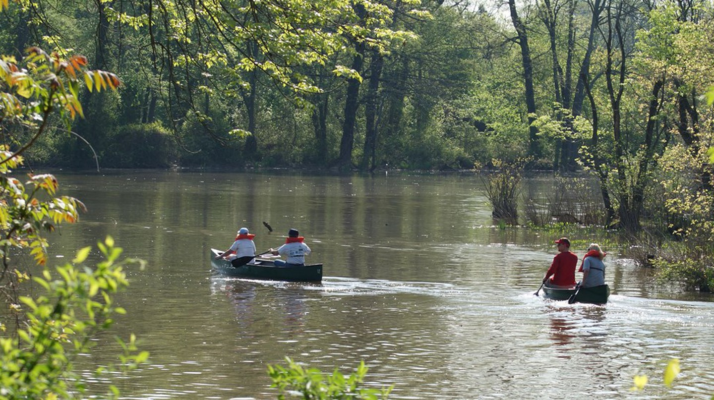 Where the Saluda and Congaree rivers meet in West Columbia is a popular canoeing and kayaking spot