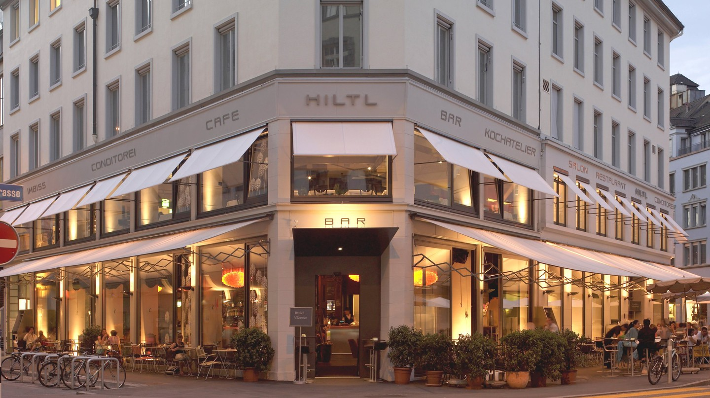 Haus Hiltl, the world's first vegetarian restaurant